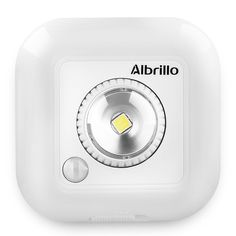 Albrillo Motion Sensor Night Light Dimmable Battery Powered Wall Lights - - Amazon.com