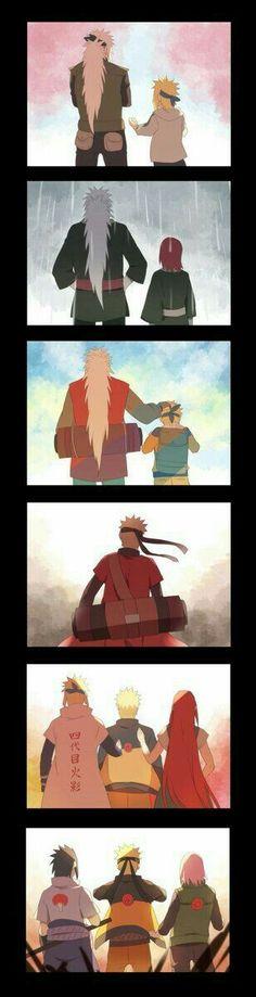 This is so epic because Jiraya was the best Sensei (with kakashi) in the Naruto-Universe. Jiraya we love you😘 Otaku Anime, Anime Naruto, Naruto Comic, Art Naruto, Naruto Cute, Manga Anime, Naruto Shippuden Sasuke, Sasuke Sakura, Boruto