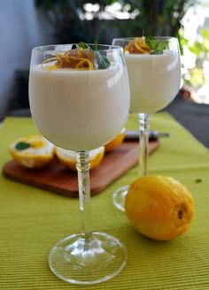 Yams, Mousse, Panna Cotta, Food And Drink, Sweets, Cream, Yummy Yummy, Tableware, Desserts