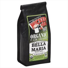 Wicked Joe Coffee 12 oz Ground Lush Sweet  Fragrant Bella Maria Coffee Medium Roast  Case Of 6 ** Want to know more, click on the image.