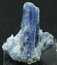 Vibrant blue Kyanite bladed crystals, Brazil. Mineral Specimen for Sale Gem Crystals