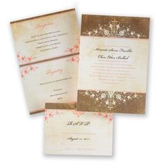 Springtime Wedding Invitations