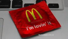 Popular Brand Slogans As Condom Wrappers