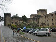 Castillo de los Condes de Oropesa (s XV) actual Parador Nacional de Turismo de Jarandilla de la Vera.