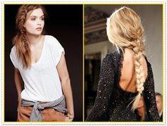 Einfache und schöne geflochtene Frisuren