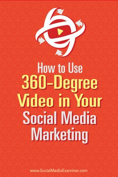 Create an immersive experience, stand out from your competitors----- Using 360-degree video in social media marketing