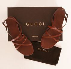 Simple strappy Gucci sandals