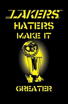 the haters make it better!