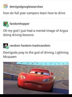 Don't you mean Lightning McLean? Rick Riordan Series, Rick Riordan Books, Percy Jackson Books, Percy Jackson Fandom, Solangelo, Percabeth, Rick Rolled, Wise Girl, Trials Of Apollo