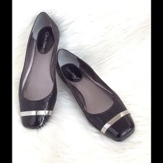 ✂️Calvin Klein flat 6.5 M. A pair of Calvin Klein flat size 6.5 M. Worn once; like new condition. No original CK box. Calvin Klein Shoes Flats & Loafers
