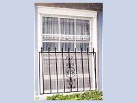 #DecorativeWindowsecuritybars model  : Spanish  Window bars  Model Spanish  http://www.glassessential.com/window-security-bars