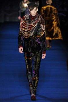 Etro, Fall 2013, Menswear, Garment, Inspiration, Dark Clash