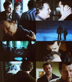 Peter and Walter. This relationship, this relationship is everything. These characters are so compelling its unbelievable :)) Also, may I point out that this is one of the few occasions that I've seen a male character be so tactile and physically engaged with people, also two male characters who are openly physically affectionate with one another and it's never a big deal :)))
