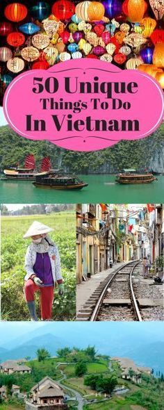 50 Unique Things To Do in Vietnam / Vietnam Budget Travel Guide