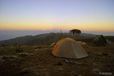 Goal... Climb Kilimanjaro, Machame Route Machame Huts to Shira Caves
