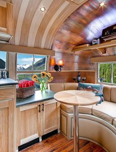 """Drooling over here. "" Airstream Vintage Travel Trailer Makes me want to become trailer class! Now THIS is an Airstream Restoration!"
