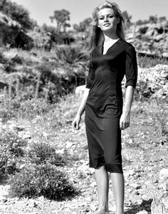 """""""Brigitte Bardot in The Night Heaven Fell (1958) """""""