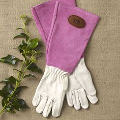 Cute Canvas And Leather Protective Gardening Gloves Cheerful Bonsai Print  Design For Women | Gardening Gloves | Pinterest | Gardening Gloves, ...