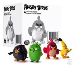 Angry Birds Collectible Figures 4-Pack New Angry Birds Movie Collectible Figures Red Bomb Chuck and Pigs 4 Pack New A game that revolutionized the entire gaming industry, Angry Birds beat every record, any gaming app ever made A simple concept of a game where you just have to pull the string and hit the pigs with the birds whose eggs the pigs stole, made a blockbuster hit on the gaming charts Angry Birds is all set to debut its first theatrical release in May 2016 with a brand new story line…