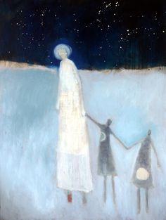 The moon and her children. Jeanie Tomanek