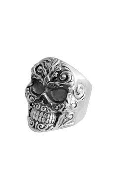Our selection of sterling silver men's jewelry is always handcrafted and made in the USA. Mens Skull Rings, Silver Skull Ring, Silver Man, Star Ring, Studded Boots, Designer Clothes For Men, Skull Jewelry, Types Of Rings, Handmade Silver