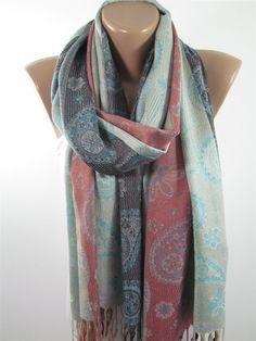 b60d97d01218d Paisley Pashmina Scarf Festival Pashmina Wrap Cowl Scarf Sale - Womens  Fashion Accessories Winter Sc