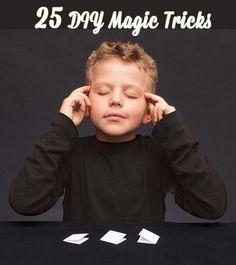 want to do magic tricks? well here we go!25 diy magic tricks