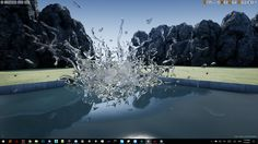 Impact Simulation Particle Pack by Level One Games in Visual Effects - Marketplace Splash Effect, Unreal Engine, Tower Defense, Game Dev, First Game, Indie Games, Visual Effects, Screen Shot, Engineering