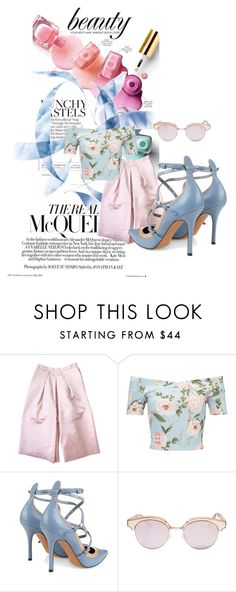 """""""The fashion power"""" by nurinur ❤ liked on Polyvore featuring Etrala London, Miss Selfridge, Valentino and Le Specs"""