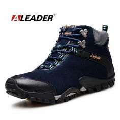 c0287b7cd68 Winter Mens Leather Boots Warm Snow Shoes 2016 Suede Ankle Boots Outoor Shoes  Snow Boots Fur Men Shoes Bota Masculina Sapatos-in Work   Safety Boots from  ...