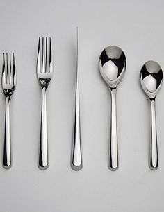 $59 Nambe Aura Stainless Steel Flatware
