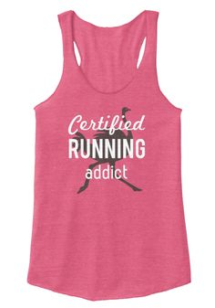 Certified Running Addict Eco True Azalea Women's Tank Top Addiction, Just For You, Running, Tank Tops, T Shirt, Fashion, Supreme T Shirt, Moda, Halter Tops
