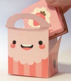 The LemonDrop Tree: Free Printable Cake Box and Gift Box Template