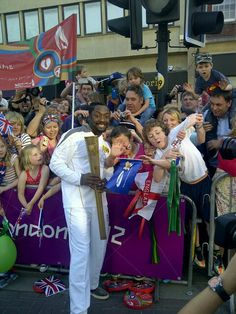 Will.I.Am Olympic Torchbearer @ Taunton 21 May 2012