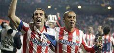 Godin and Miranda in Spanish Cup 2012-2013
