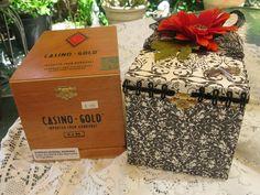 Altered Cigar Box - Scrapbook.com