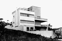Casa da Rua Bahia, São Paulo, Brasil, Gregori Warchavchik, 1930