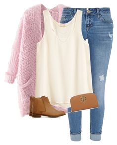 pristine in pink by apocketfulofprep on Polyvore featuring polyvore, fashion, style, H&M, Chicnova Fashion, River Island, ASOS, Tory Burch, Jennifer Zeuner, Kate Spade, women's clothing, women's fashion, women, female, woman, misses and juniors