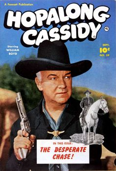 Comic Book Cover For Hopalong Cassidy #59