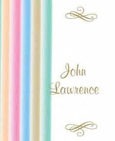 Stripes of Love Bomboniere Card in Gold Fusion - DreamDay Invitations