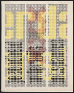 Jurriaan Schrofer — Amsterdam jaarverslag (1967)