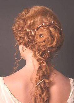 Hair done by the Bavarian Theater Academy - I've lightened the pictures so it's easier to see the hair - the site is in German but the pictures are still sooooo cool!