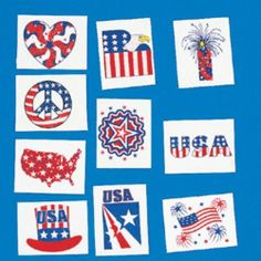"""Patriotic Glitter Tattoos Case Pack 216 by DDI. $10.80. Patriotic Glitter Tattoos measure 1-3/4"""""""""""""""" and come in assorted patriotic designs."""""""" Case Pack 216 Please note: If there is a color/size/type option, the option closest to the image will be shipped (Or you may receive a random color/size/type)."""