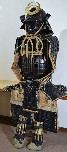 Samurai armor with an unknown type of dou.