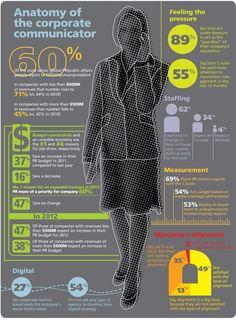 anatomy of the corporate communicator