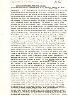 10000 Übernachtungen sind schon erreicht 19.06.1965