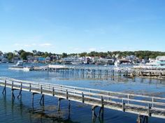 Boothbay Harbor, ME: View from Cap'n Fish's