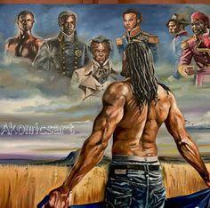 Art and history Black Love Art, Black Girl Art, Black Is Beautiful, Black Man, Black Art Painting, Black Artwork, Arte Black, Black Royalty, Black Art Pictures
