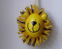 Osterei Löwe von Ostereiershop auf DaWanda.com