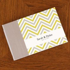 Personalized Guestbook, Chevron